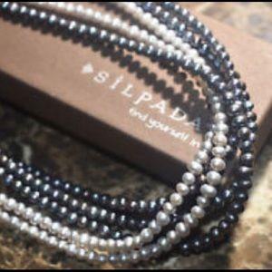 Five strand Silpada pearl necklace
